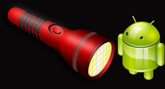 Android Telefonda El Feneri Kullan