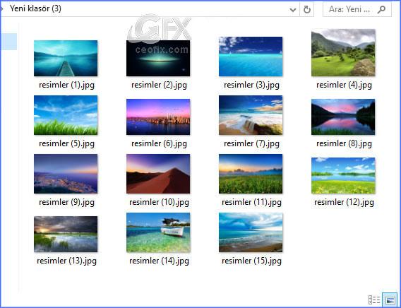Windows yeniden adlandırmada