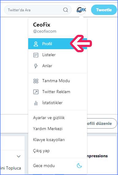 Twitter'da İsim Soyisim Değiştirme Nasıl Yapılır ?