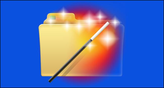 Windows'da Gerçekten Gizli Bir Klasör Yada Dosya Oluştur