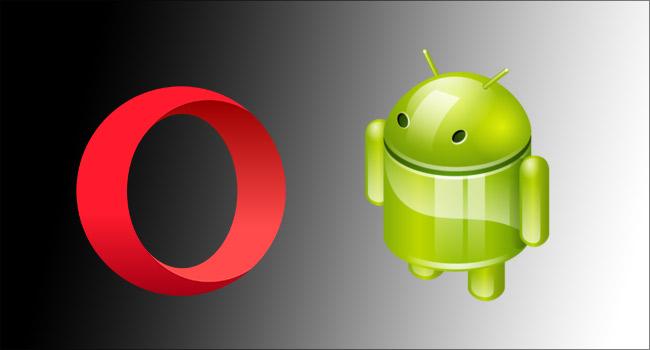 Android Opera Tarayıcısını Gece Modunda Kullan