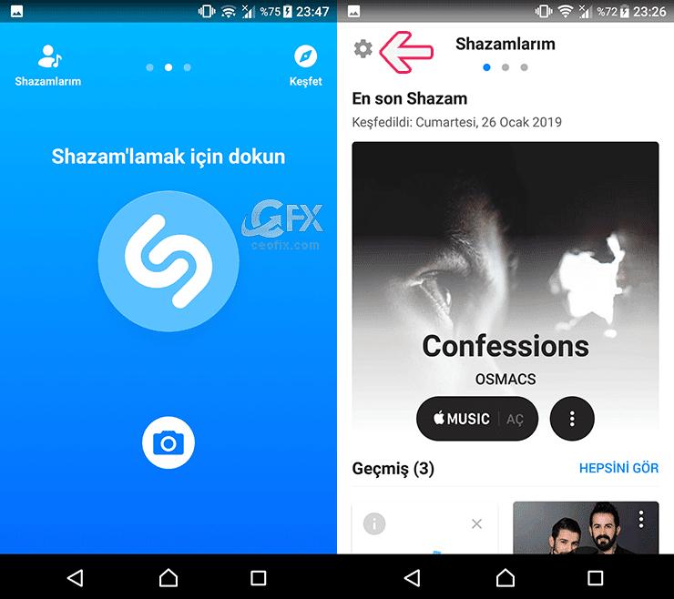 Pop'up Shazam- Shazam Açık Sorununun Çözümü