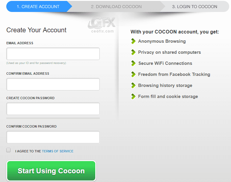 Cocoon Browser