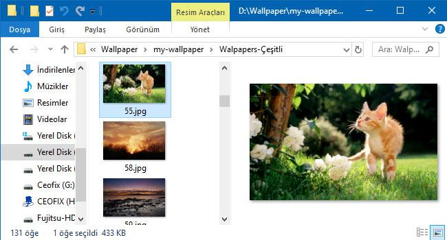Windows 10'da Dosyalar Açmadan Nasıl Görüntülenir