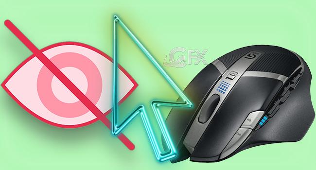 Bilgisayar Boşta İken Fare İmlecini Gizle