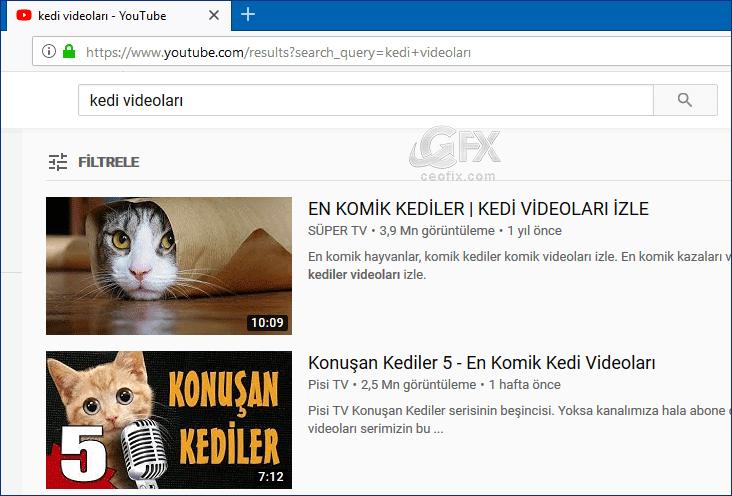 Youtube'da son yüklenen videoları nasıl bulurum