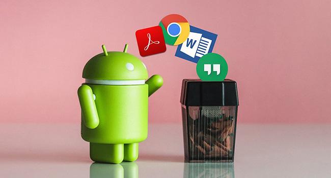 Android'de Kalıcı Uygulamaları Devre Dışı Bırak- Etkinleştir