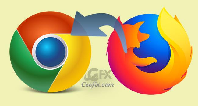 Firefox Mozilla'dan Chrome'a Yer İmleri Ve Şifrelerini Aktar