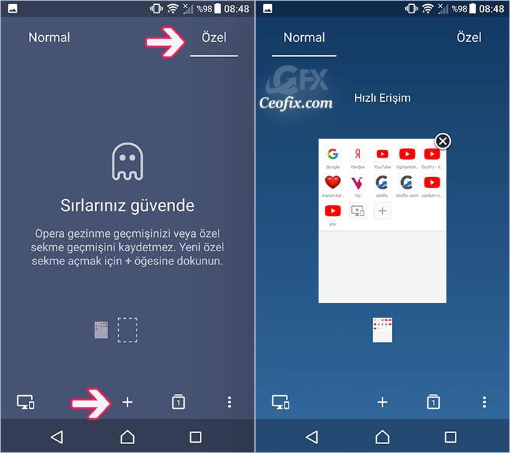 Android telefonda süresiz ve ücretsiz VPN kullan: