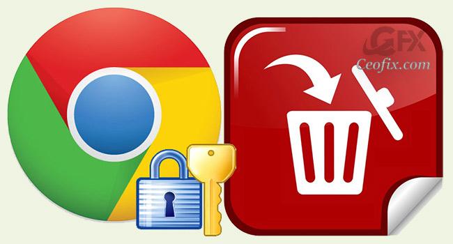 Chrome'da Kaydedilen Parolaları Sil