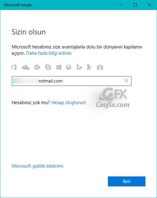 Windows 10 Lisans sorunu