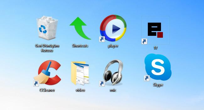 Windows 10'da Simge Boyutu Nasıl Değiştirilir
