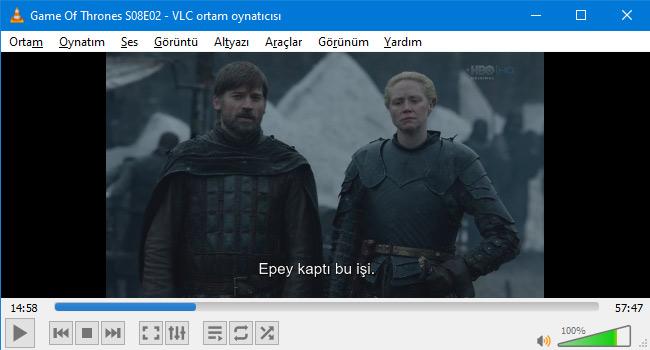 VLC Player'da Alt Yazı Dosyası Nasıl Gösterilir