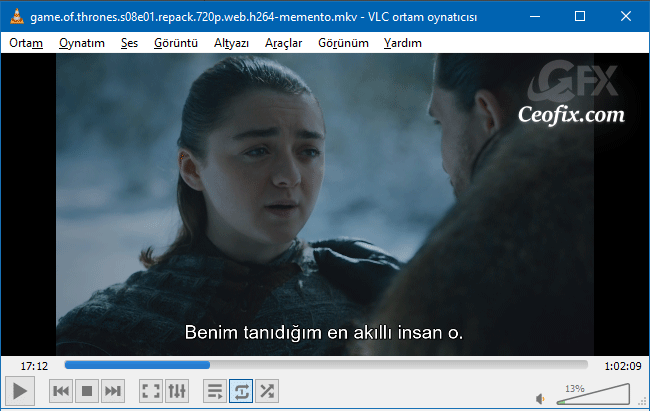 VLC PLayer'da Türkçe Karakter Sorunun Çözümü