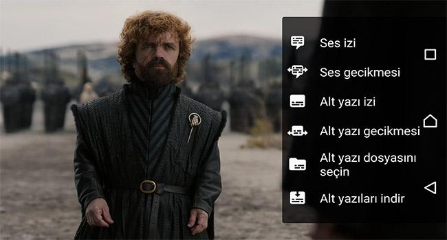 Android VLC Player'da Alt Yazı Dosyası Nasıl Gösterilir