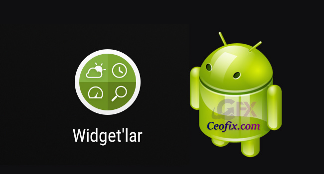 Android Telefona Google Widget Nasıl Eklenir?