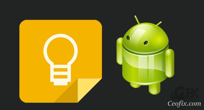Android Telefonunuzdaki Google Keep'te Koyu Tema Kullan