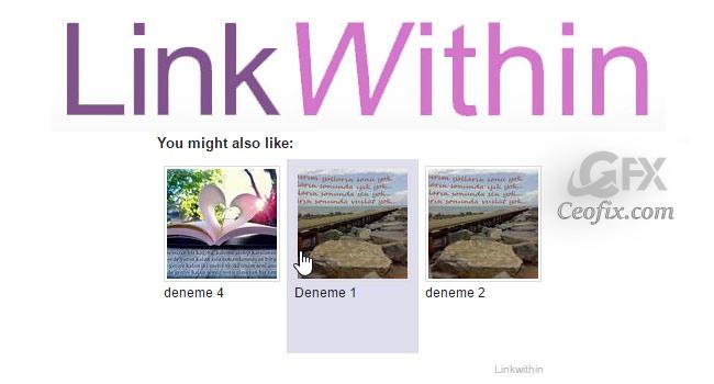 Linkwithin Benzer Yazılar Eklentisi Ekleme Ve Kaldırma