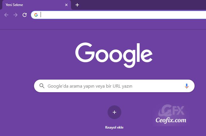 Google Chrome'da Kendi Renkli Temalarınızı Oluşturun