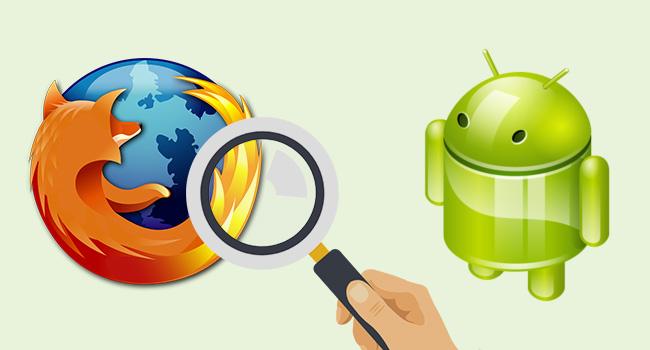Firefox Mobile'a Özel Arama Motoru Ekleme