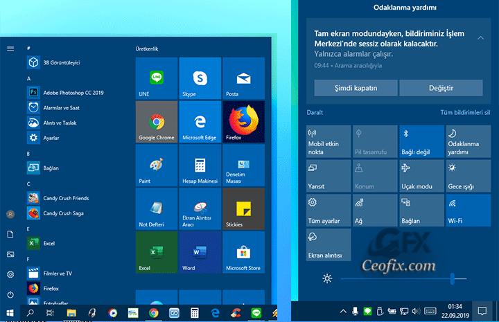 Windows 10'da Sadece Görev Çubuğunun Rengini Değiştir