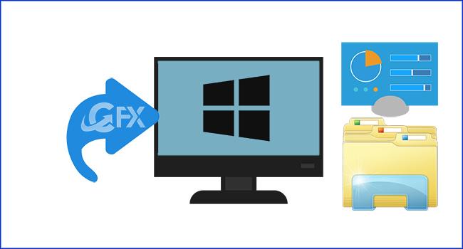 Windows 10'da Dosya Gezginine Denetim Masası Bağlantısı Ekle