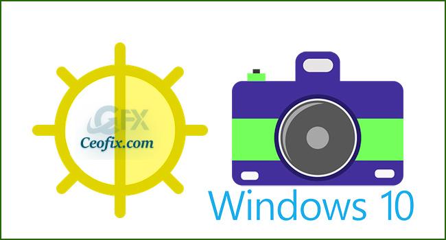 Windows 10'da Kamera Parlaklığı Nasıl Değiştirilir