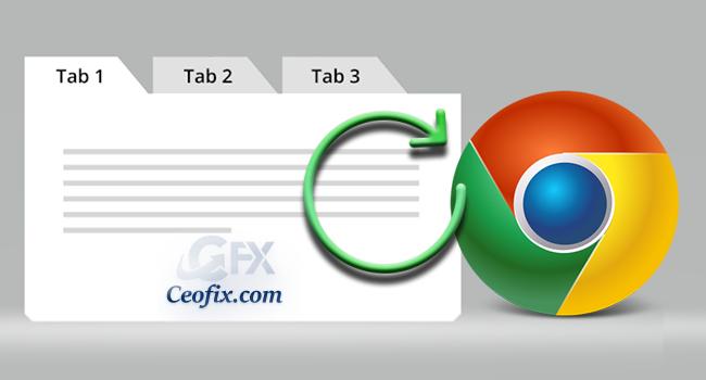 Google Chrome'da Kapatılan Sekmeler Nasıl Yeniden Açılır