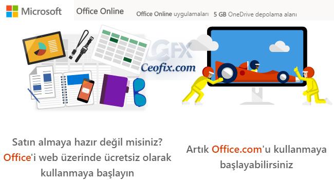 Ücretsiz Microsoft Office Nasıl Kullanılır?