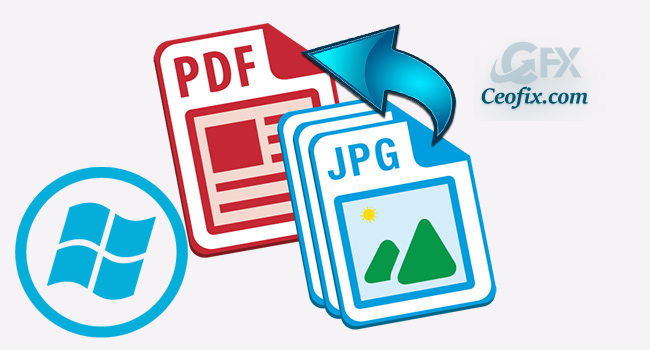 Windows 10'da Online Araç Kullanmadan Resmi PDF'e Dönüştür