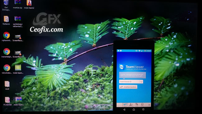 Android Telefondan Bilgisayara TeamViewer İle Bağlanıp Yönet