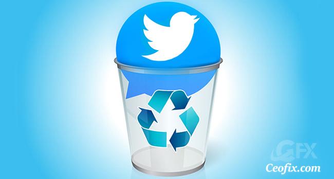 Twitter Hesabı Nasıl Kalıcı Silinir?