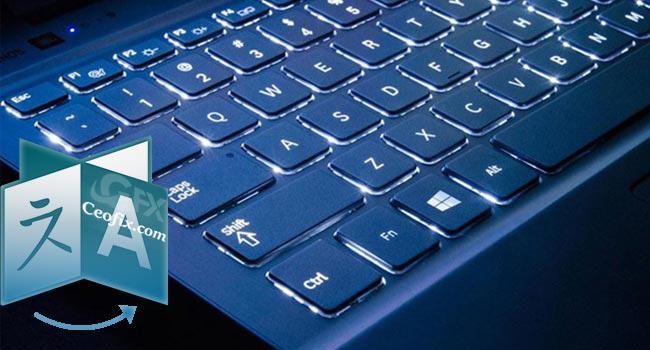 Windows 10'da Klavyeler Arası Geçişe Kısayol Atama
