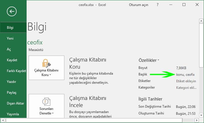 Excel Ve Word Belgelerine Başlık Yazın Ararken Kolayca Bulun