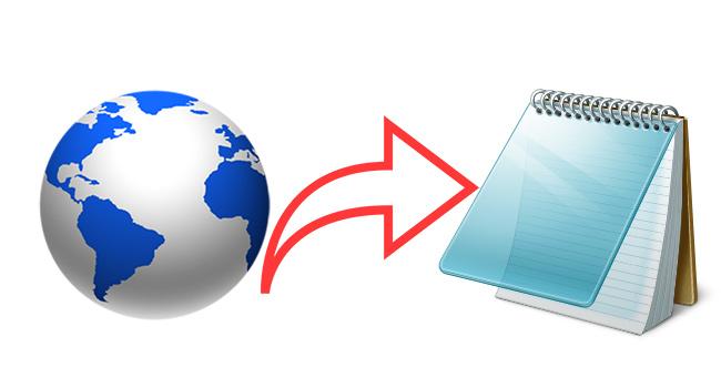 Eklentisiz Tarayıcı Üzerinde Not Al Ve HTML Olarak Kaydet