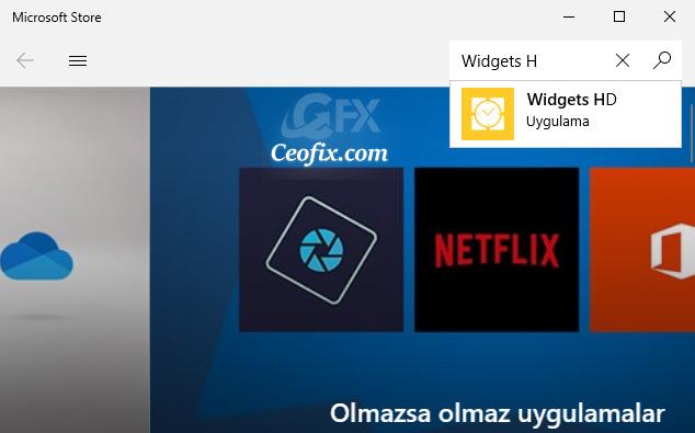 Windows 10'a Masa Üstüne Gadget - Analog saat- Takvim Ekleyin