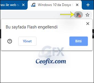 Chrome'da Flash Player Hatası Mı Alıyorsunuz?