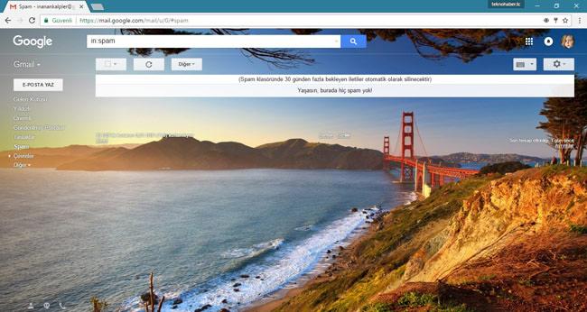Gmail Teması Nasıl Değiştirilir