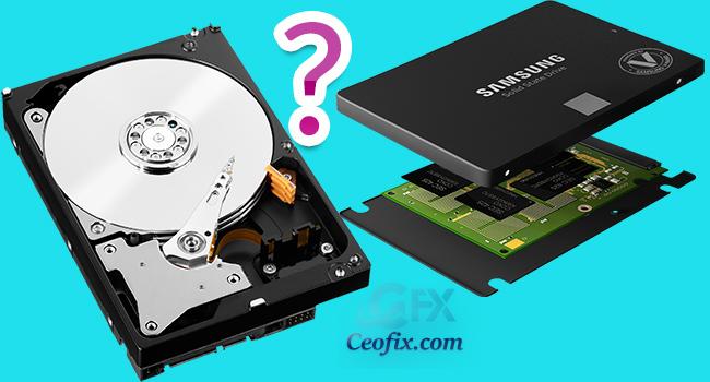 Bilgisayarımdaki Sabit Sürücü (Harddisk) HDD mi? SSD Mi?