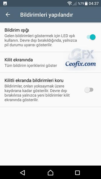 Android Uygulamalardan Bildirim Gelmiyor