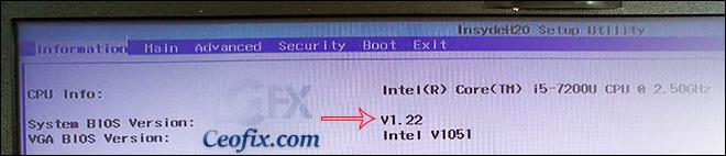 BIOS sürümü nasıl kontrol edilir