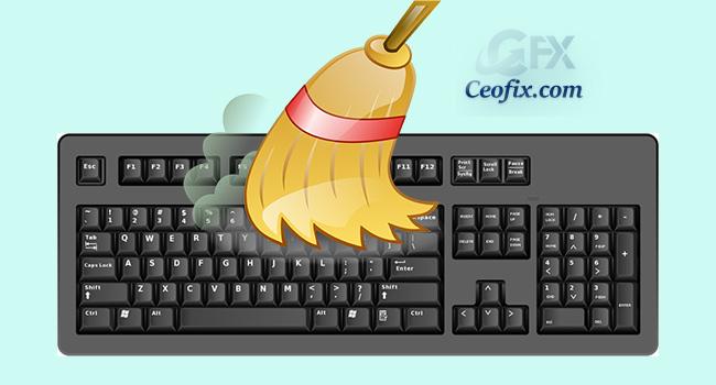 klavye nasıl temizlenir
