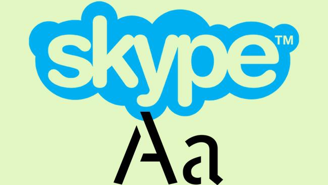 Skype Arayüzündeki Yazılar Küçüldü