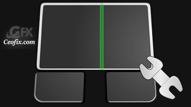 Touchpad'de Dikey Kaydırma Genişliğini Ayarla