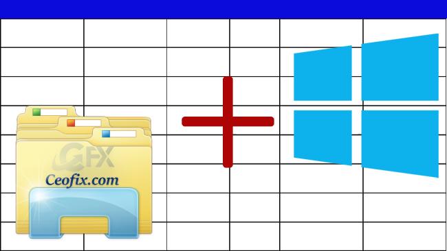 Windows 10 Dosya Gezgini'nde Tüm Klasörlere Sütun Ekleme