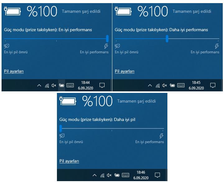 Windows 10'da Güç Modu Düzeyi Nedir?Güç Modu Nasıl Ayarlanır