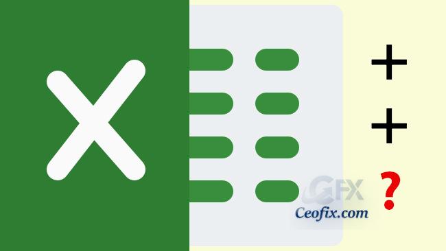 Excel'de Hücre Oluşturma Ve Toplama İşlemi