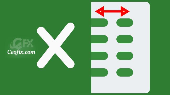 Excel'de Sütun Genişliği Nasıl Değiştirilir