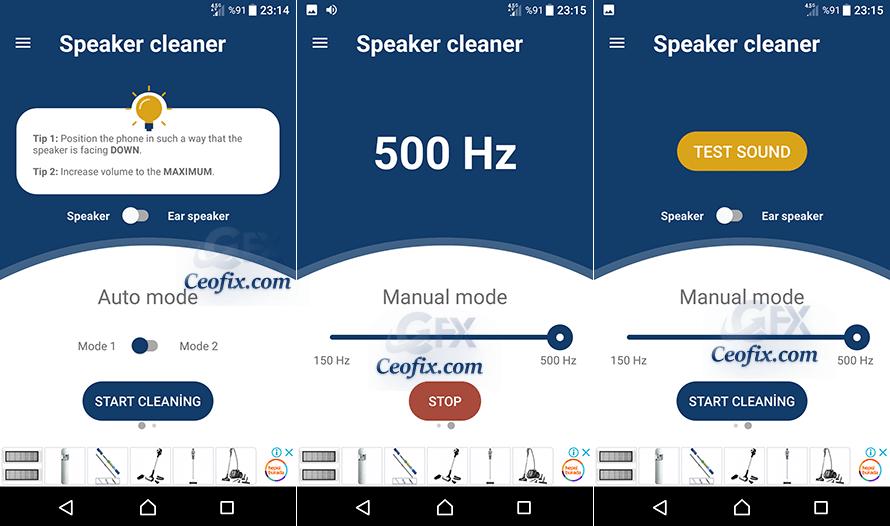 Android'de Hoparlör Tıkanmasını Düzelten Uygulamalar