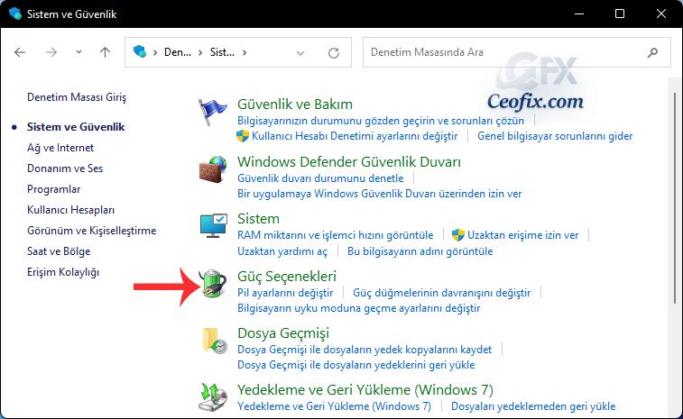 Windows 11'de Kapağı Kapatınca Bilgisayar Uyumasın